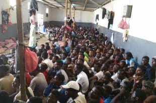 MIGRANTI IN LIBIA CAMPI1