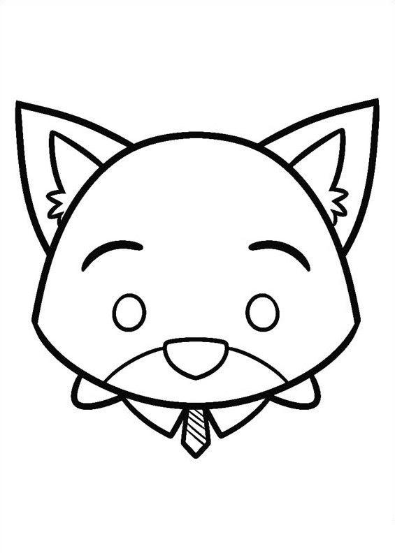 Tsum Tsum Para Colorear Pintar E Imprimir Top Coloring Pages For Kids