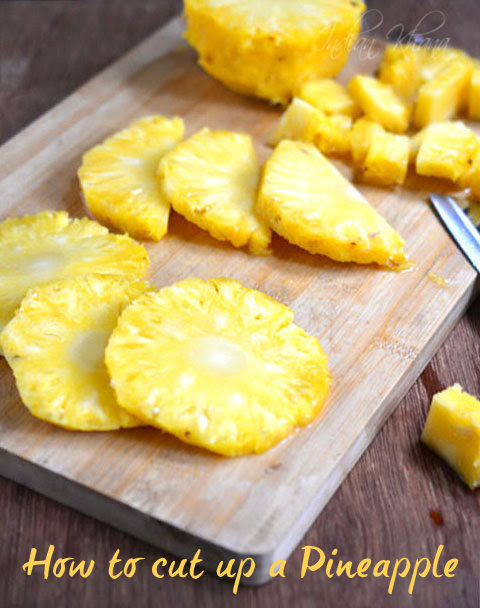 How to cutup Pineapple
