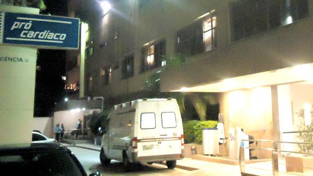 Hospital Pró-Cardíaco Ricardo Teixeira (Foto: Fred Huber/Globoesporte.com)