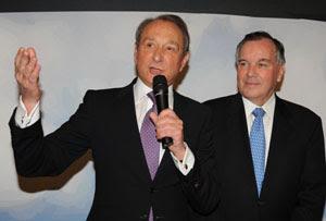 Mayor Delanoe and Mayor Daley