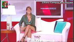 Liliana Campos sensual na Sic