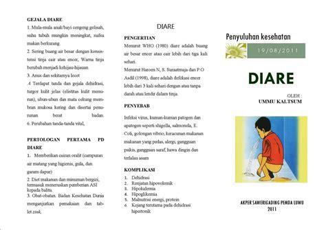 leaflet kesehatan health infoku keperawatan