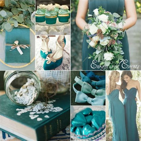 Teal Wedding Inspiration  Munaluchi Bride