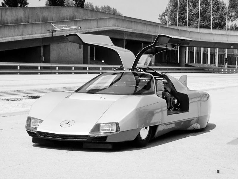 Mercedes-Benz C111-III Diesel Concept (1977) - Old Concept ...