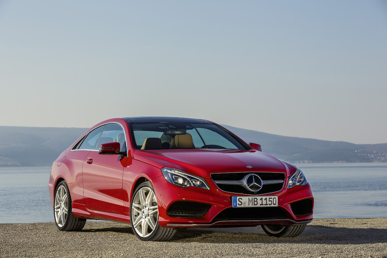 Mercedes-Benz reveals freshened 2014 E-Class Coupe and ...