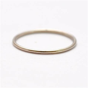 Mila Kunis Platinum Wedding Band: Thin PT950 by