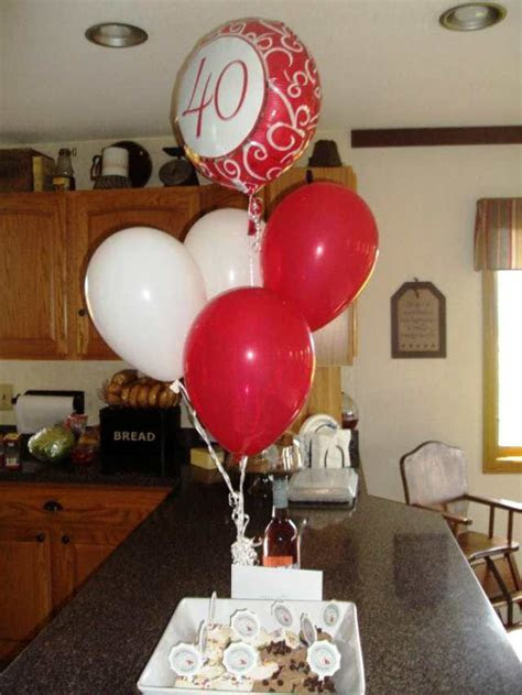 Some Absolutely ?Love?ly 40th Anniversary Decoration Ideas