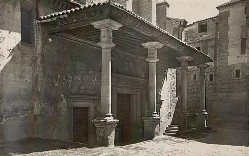 Convento de Santo Domingo el Real (Toledo) a principios del siglo XX. Foto García Garrabella hacia 1952