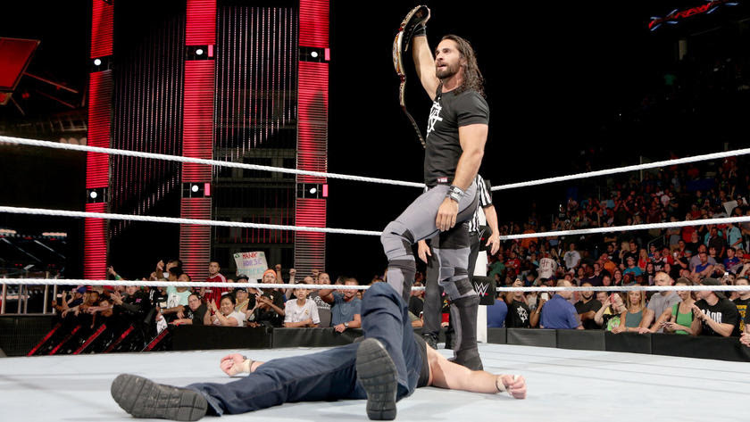 In the end, it's Seth Rollins ...