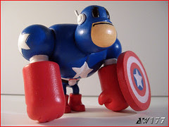 AW177 Captain America Custom Muttpop Tcho!
