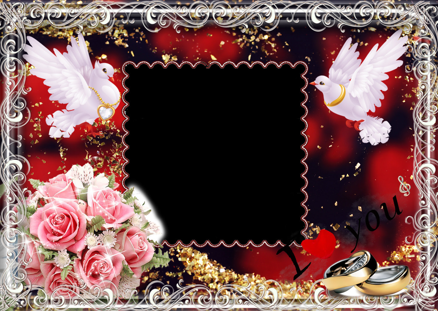 Wedding Photo Frames Loonapix 50 Frames