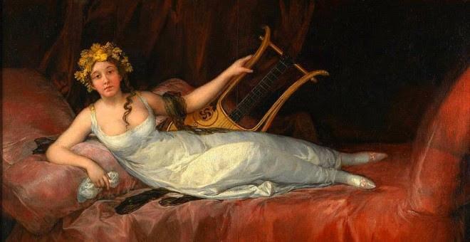 La marquesa de Santa Cruz, de Francisco de Goya