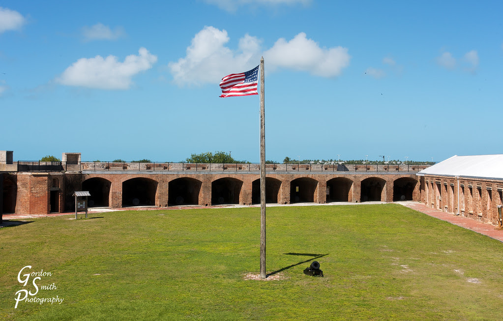 Fort Zachary Taylor flagpole