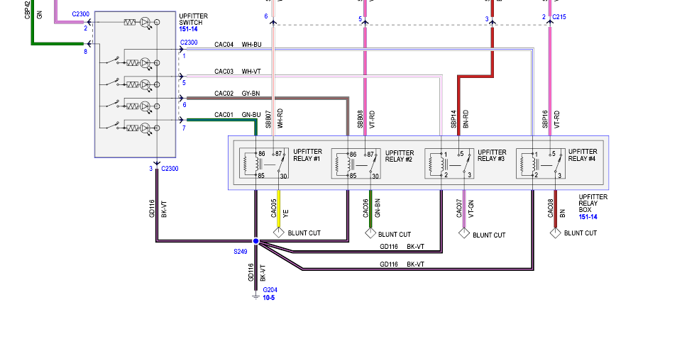 F250 Super Duty Upfitter Switches Wiring Diagrams Wiring Diagram Dry Information B Dry Information B Led Illumina It
