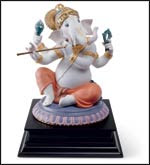 This limited edition Ganesha is one of Raul's latest designs