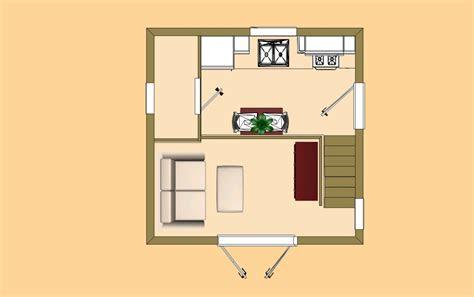 cozy cube home plans building plans