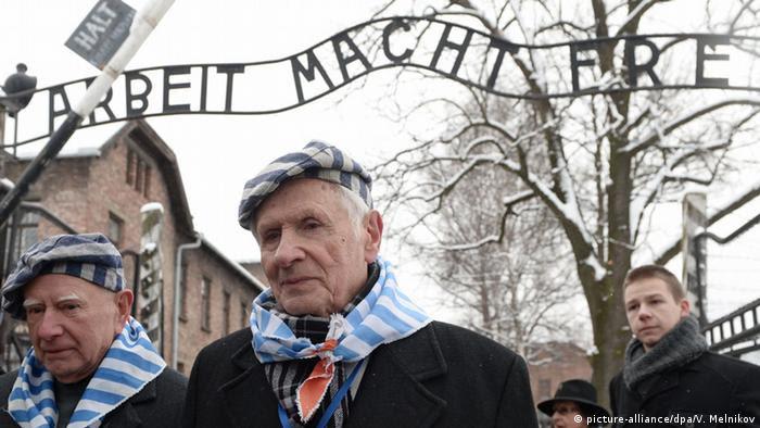 Выжившие заключенные Освенцима