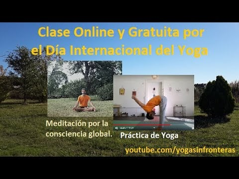 Clase Online Gratuita celebrando el Día Internacional del Yoga 2020
