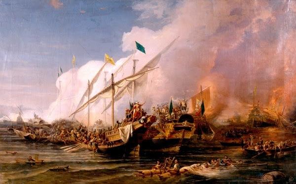 Στις 28 Σεπτεμβρίου 1538 γίνεται η Ναυμαχία της Πρέβεζας