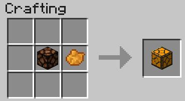 Minecraft Recipe Redstone Lamp Lock Down E