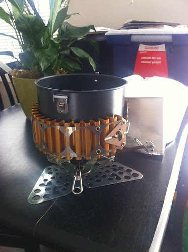 Winter stove