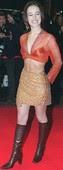 Alizée Blusa Transparente Mini Con Botas