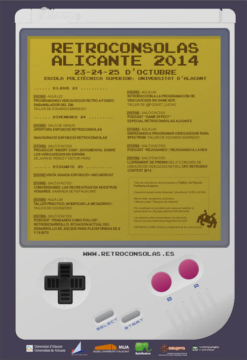 retroconsolas alicante 2014