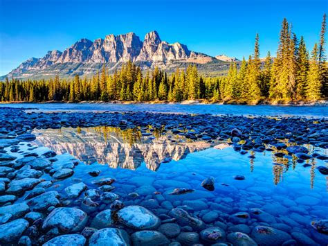 canadas banff national park alberta beautiful mountain