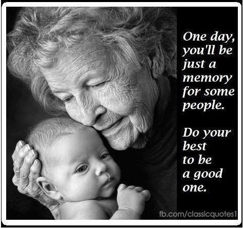 When we pass on, the only thing we leave behind of worth is our memories. Spend time with your family, and make it a good one.