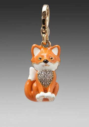 JUICY COUTURE Fox Charm in Gold at Revolve Clothing