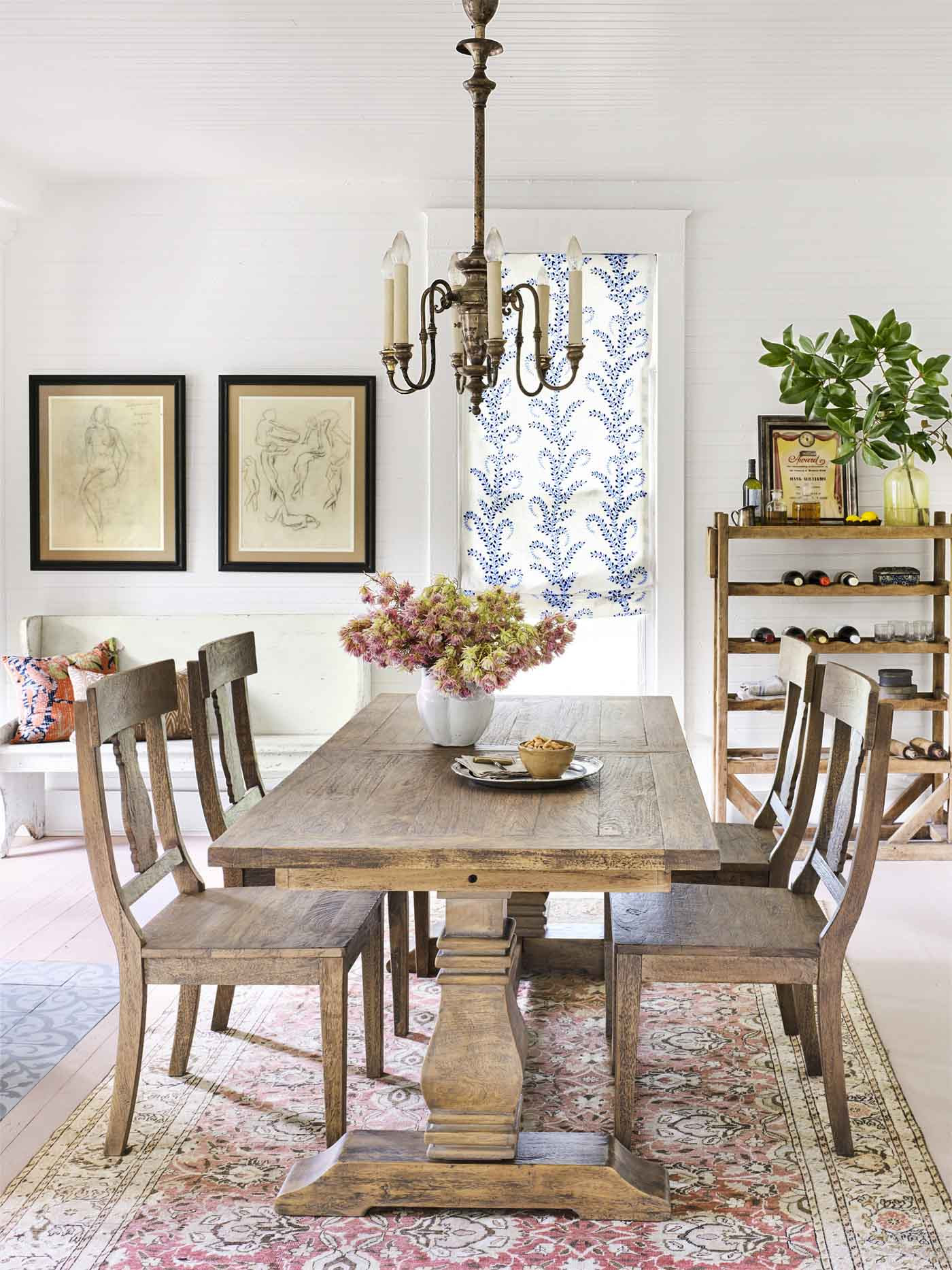 81 Best Dining Room Decorating Ideas - Country Dining Room