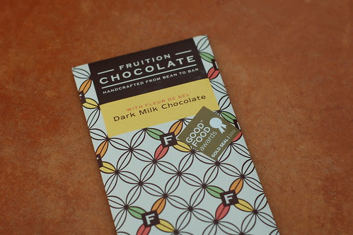 Fruition Chocolate's Dark Milk With Fleur de Sel