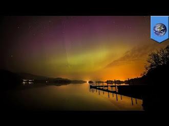Tormenta solar genera espectaculares Auroras Boreales