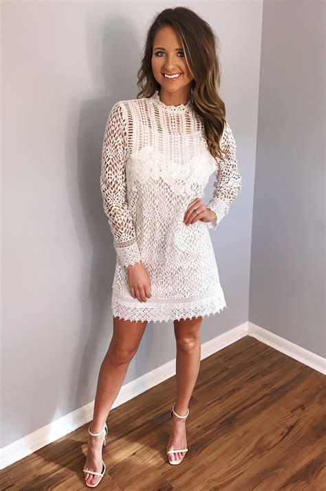 5 White Bridal Shower Dresses We Love   Style Inspired
