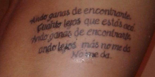 Un Fan De Los Piojos Y Un Tatuaje Fallido Urbana Rock 1009