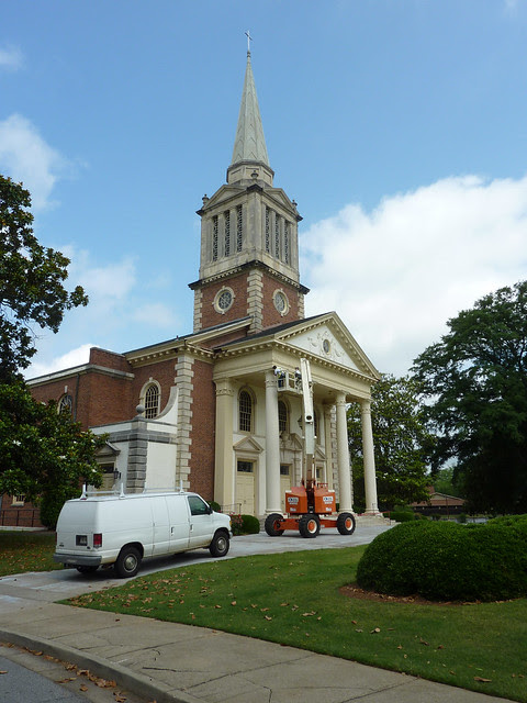 P1080098-2012-05-08--Decatur-1st-Baptist-by-Lewis-Crook-classic-Portico-Repair-1948-51-full