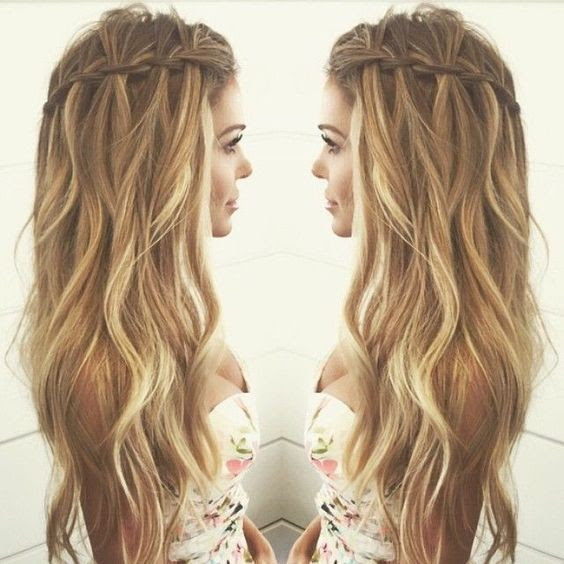10 Pretty Waterfall French Braid Hairstyles 2020