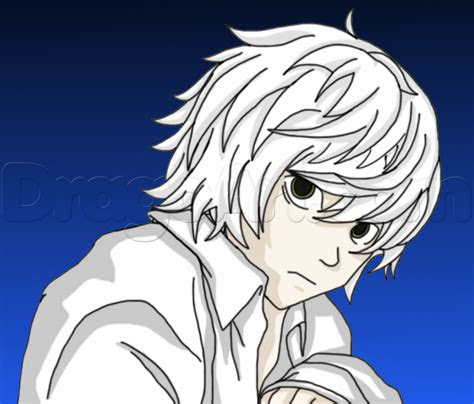 draw   death note step  step anime
