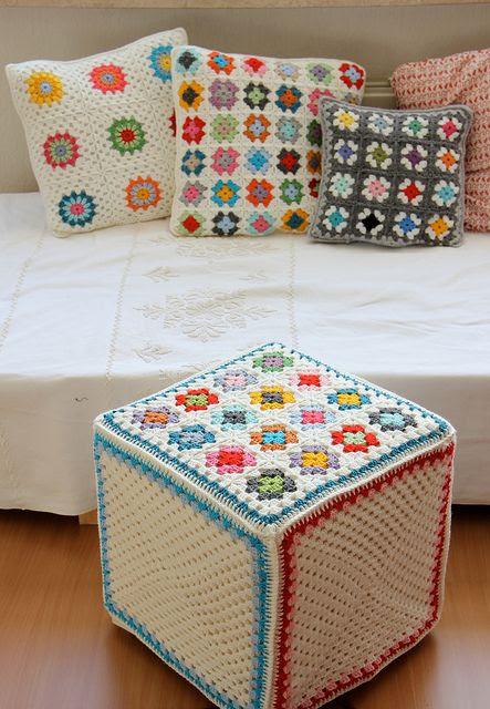 Colorful granny squares