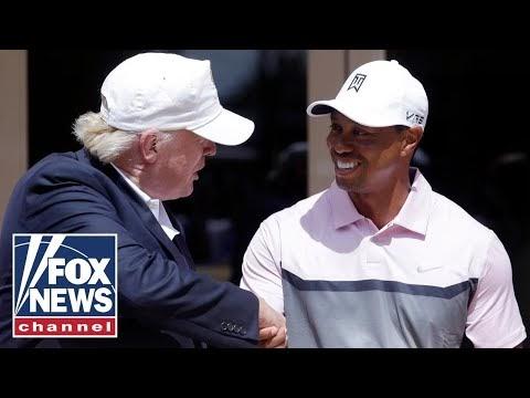 Trump reacts to Tiger Woods' car crash on 'Fox News Primetime