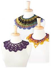 Crochet Collars Crochet Pattern