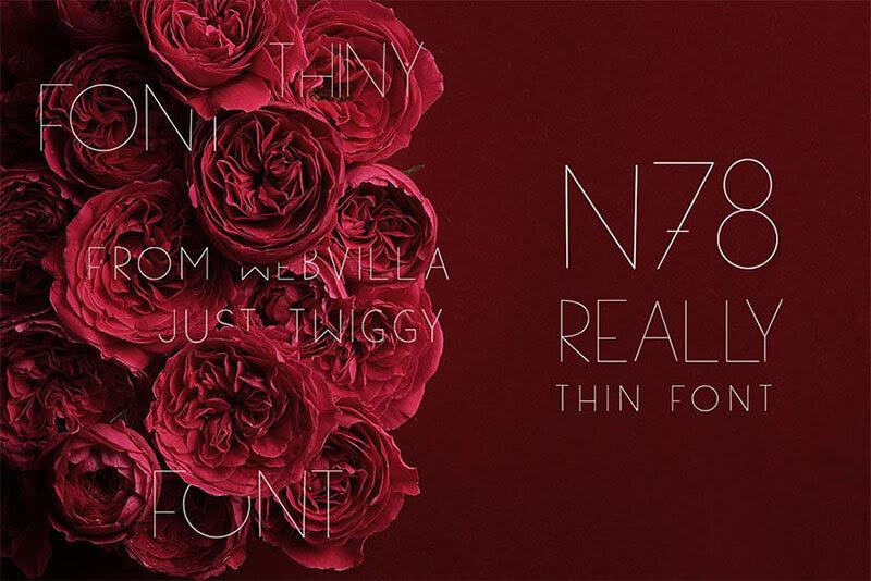 n78-thin-font