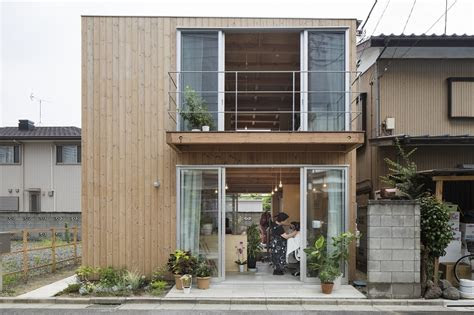 wooden box house small house  japan mixes work