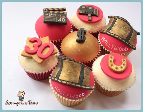 Hollywood Cupcakes by Scrumptious Buns (Samantha)