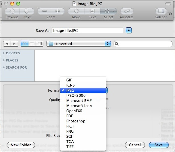 Convert Images In Mac Os X Jpg To Gif Psd To Jpg Gif To