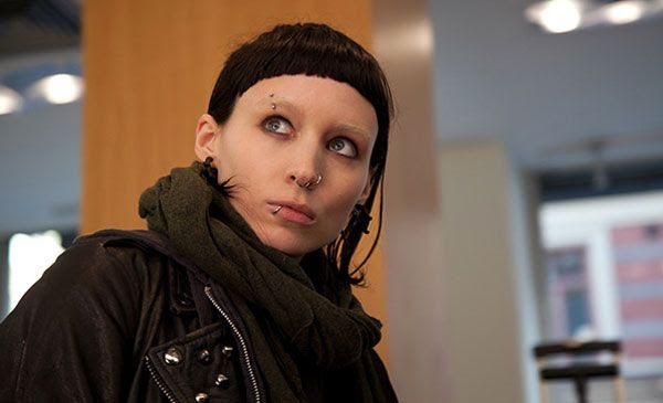 2012 Best Actress nominee Rooney Mara in THE GIRL WITH THE DRAGON TATTOO.