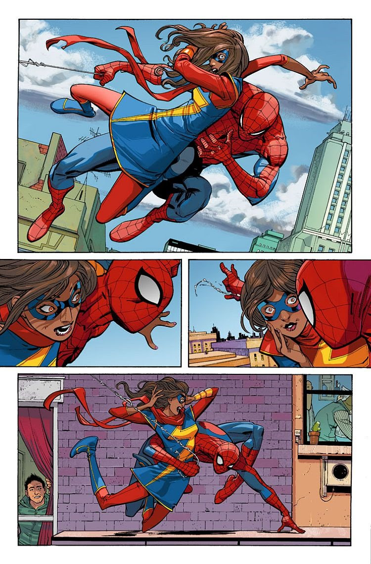 Preview: Amazing Spider-Man #7 - Peter Meets Kamala Khan