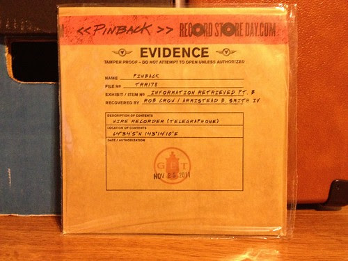 "Pinback - Information Retrieved Pt. B 7"" - Record Store Day Black Friday Release"