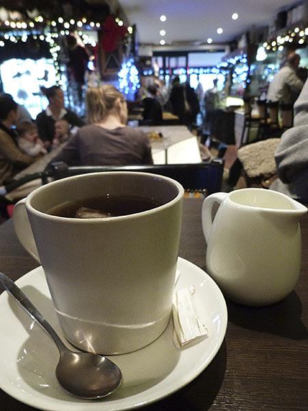 thé au pub